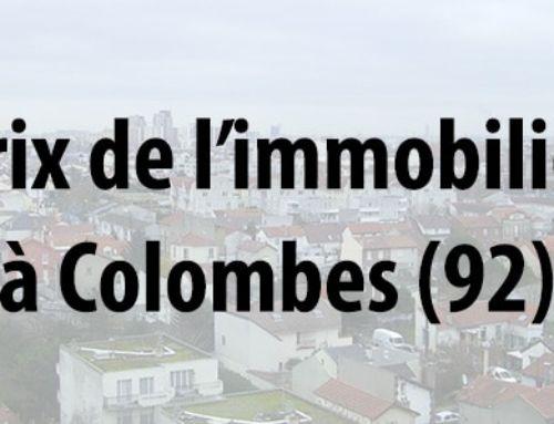 Les prix de l'immobilier à Colombes (92)